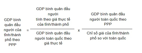 cach tinh GDP PPP